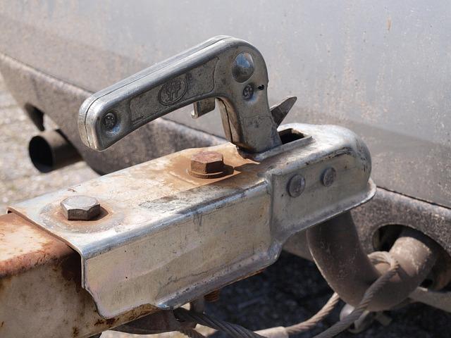 gancio traino per trasporto auto con carrello